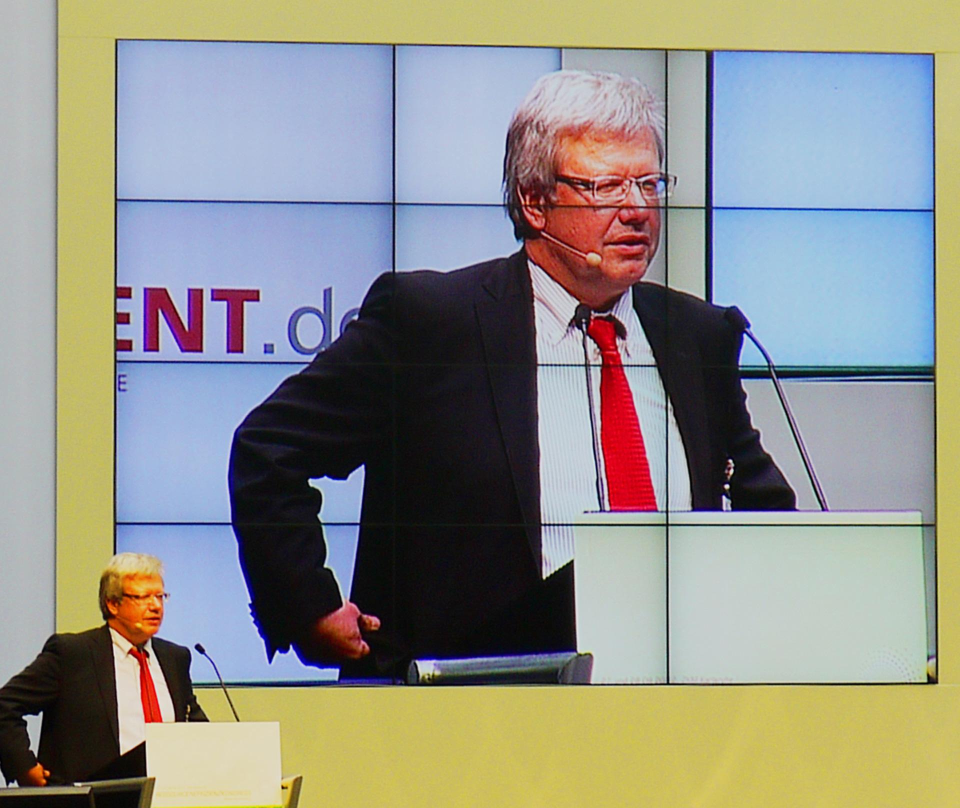 Energiekongress ZKM Monitorwand