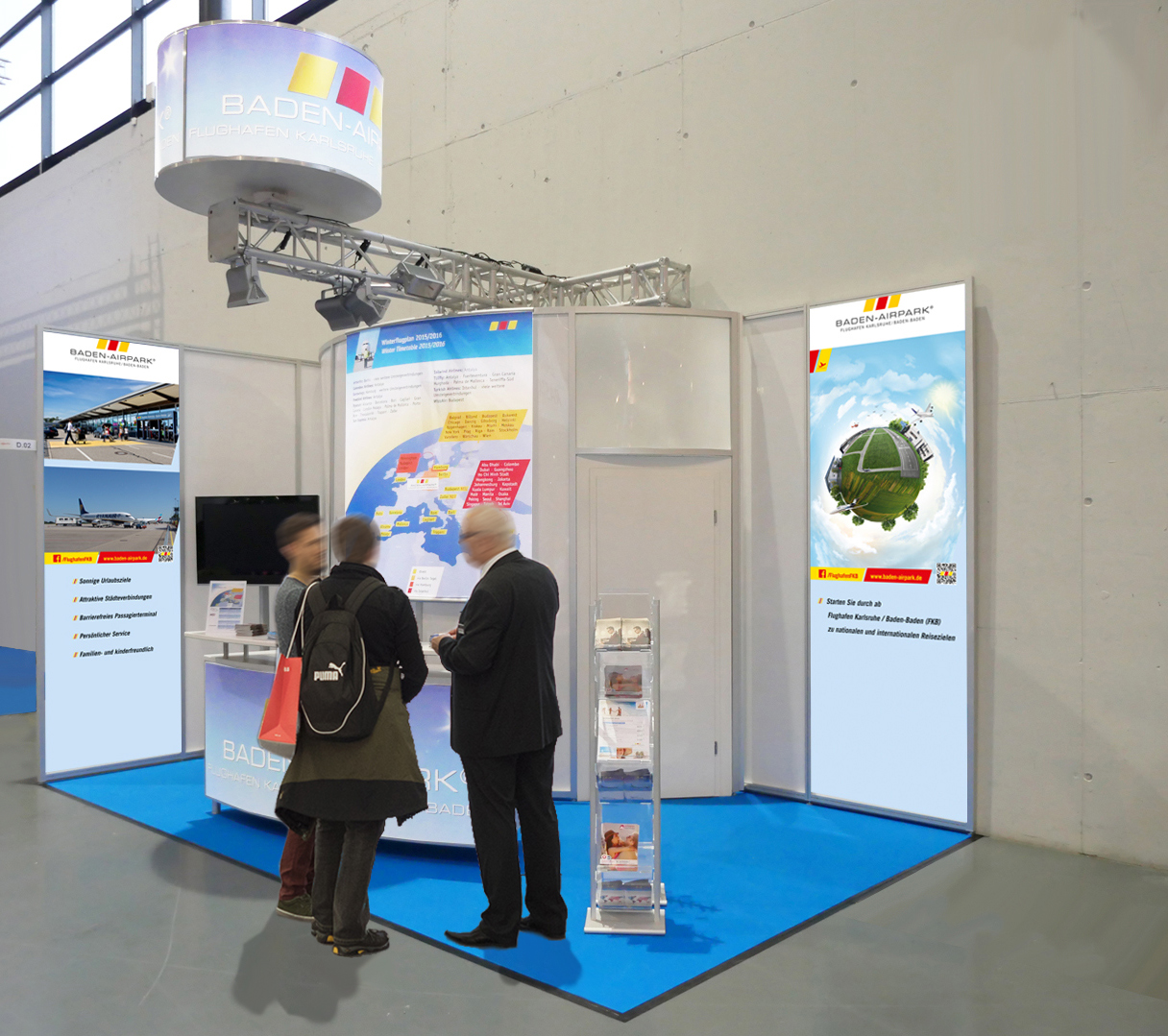 Messestand Offerta Airpark 4