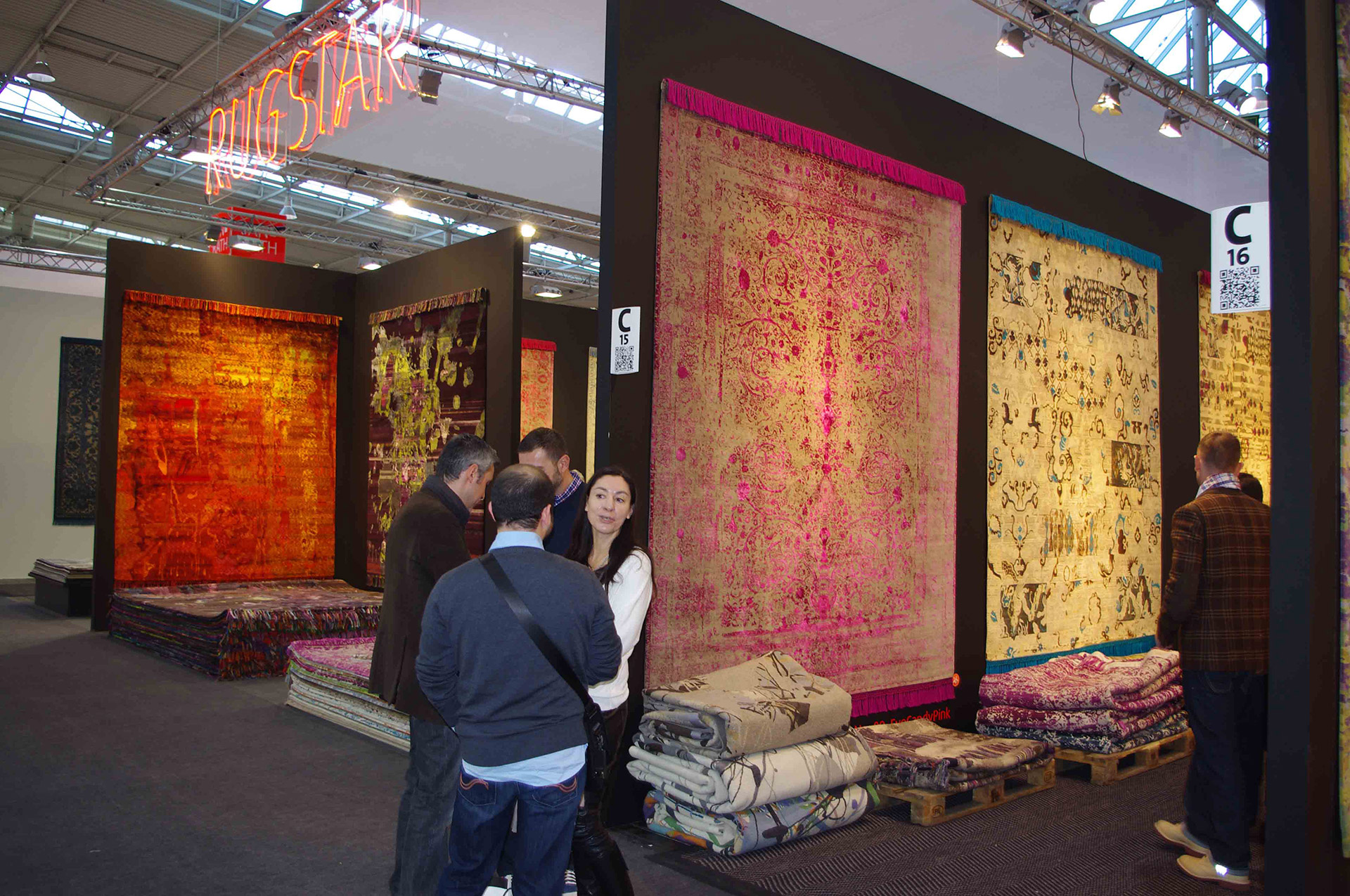 Domotex Messestand Rug Star