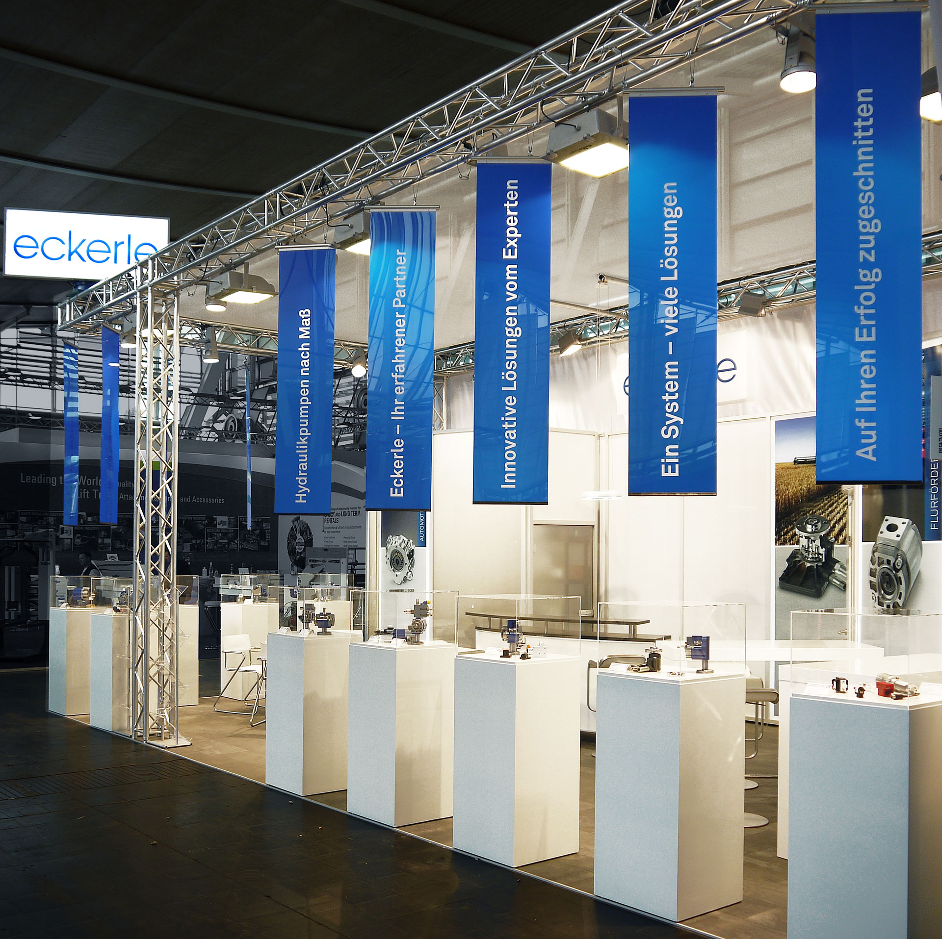 Eckerle Messestand Hannover